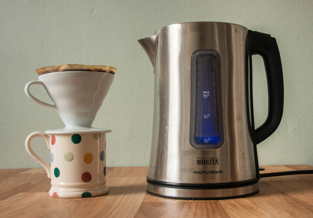 Brita filter kettle - no more is there a thin layer of limescale floating on my coffee