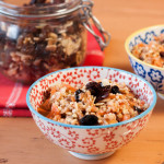 Buckwheat and oat spiced porridge