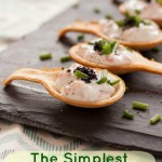 Simple and delicous Smoked Salmon Canapes
