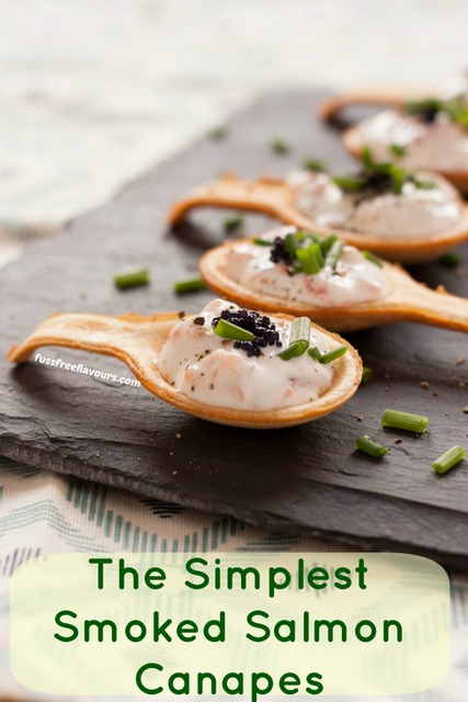 Recipe Simple Amp Delicious Smoked Salmon Canap 233 S Fuss