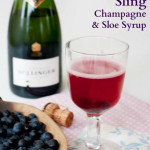 Recipe: The Cotswold Sling – Champagne & Sloe Cocktail