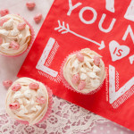 Jelly Belly Eton Mess Valentines Day Cupcakes