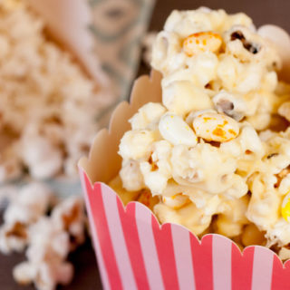 Recipe: Jelly Belly White Chocolate Popcorn Clusters