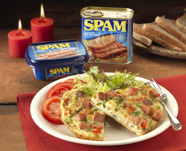 Recipe spam ish omelette for spam appreciation week - Mauritian cuisine 100 easy recipes ...