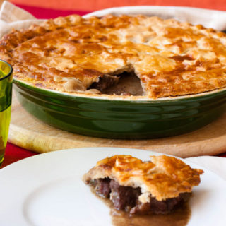 Ox Cheek Pie for National Pie Week