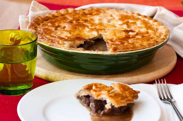 Ox Cheek Pie for National Pie Week
