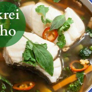 Pho made wtih Norwegian Skrei cod