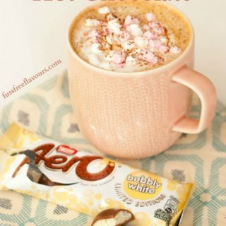 Recipe: Aero Bubbly White Hot Chocolate
