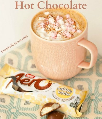 Recipe Aero Bubbly White Hot Chocolate