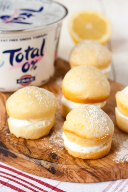 Total Greek Yoghurt Lemon Cakes
