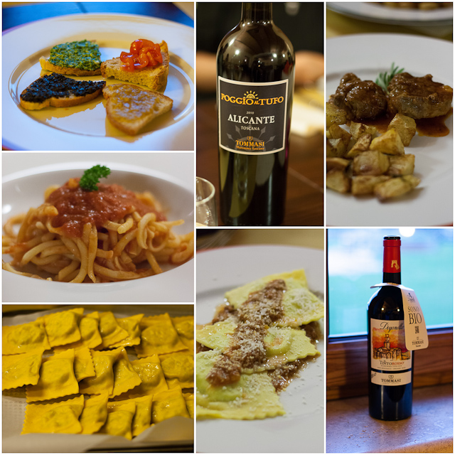 Cirio True Italian Dinner at Poggio al tufo