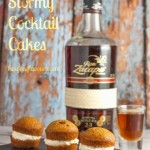 Recipe: Dark & Stormy Cocktail Cupcakes