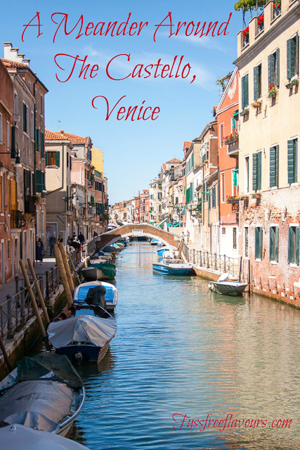 a meander around the castello, venice
