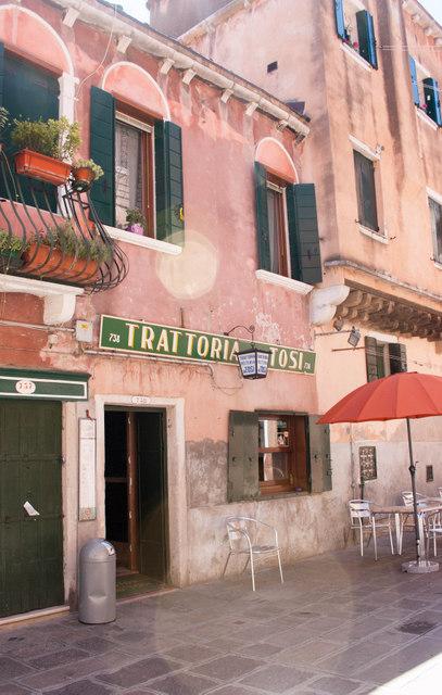 Trattoria dai Tosi, Castello quarter, Venice