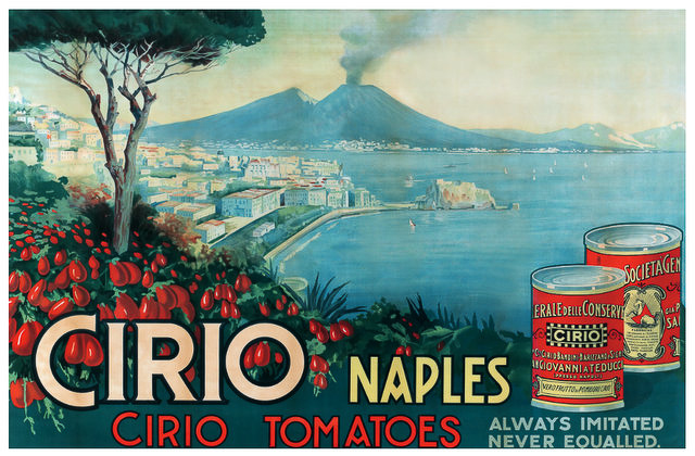 Cirio Naples Advertisment