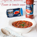 Fagioli all'uccelletto - beans in tomato sauce