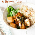 Tamari Silken Tofu, Asian Greens and Brita Water Rice - Captioned