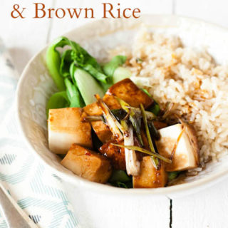 Recipe: Tamari Silken Tofu, Asian Greens & BRITA Filtered Water Brown Rice