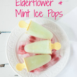Recipe: Cooling Cucumber, Elderflower & Mint Ice Pops