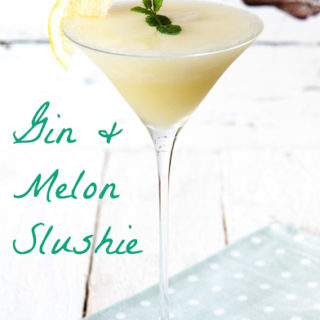 Recipe: Gin and Melon Slushie