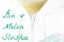 Gin and melon slushie Captioned