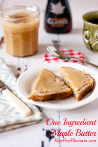 One Ingredient Maple Butter