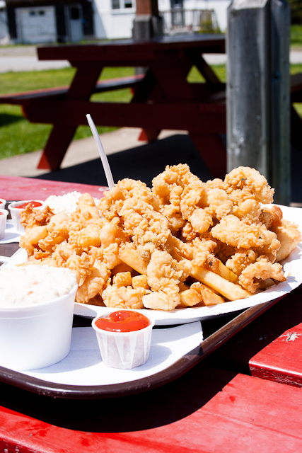Ossies Lunch Fried Clams