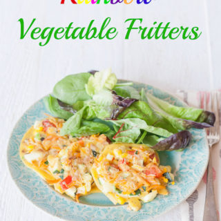 Rainbow Vegetable Fritters