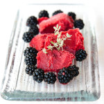 Blackberry Apple & Thyme Sorbet