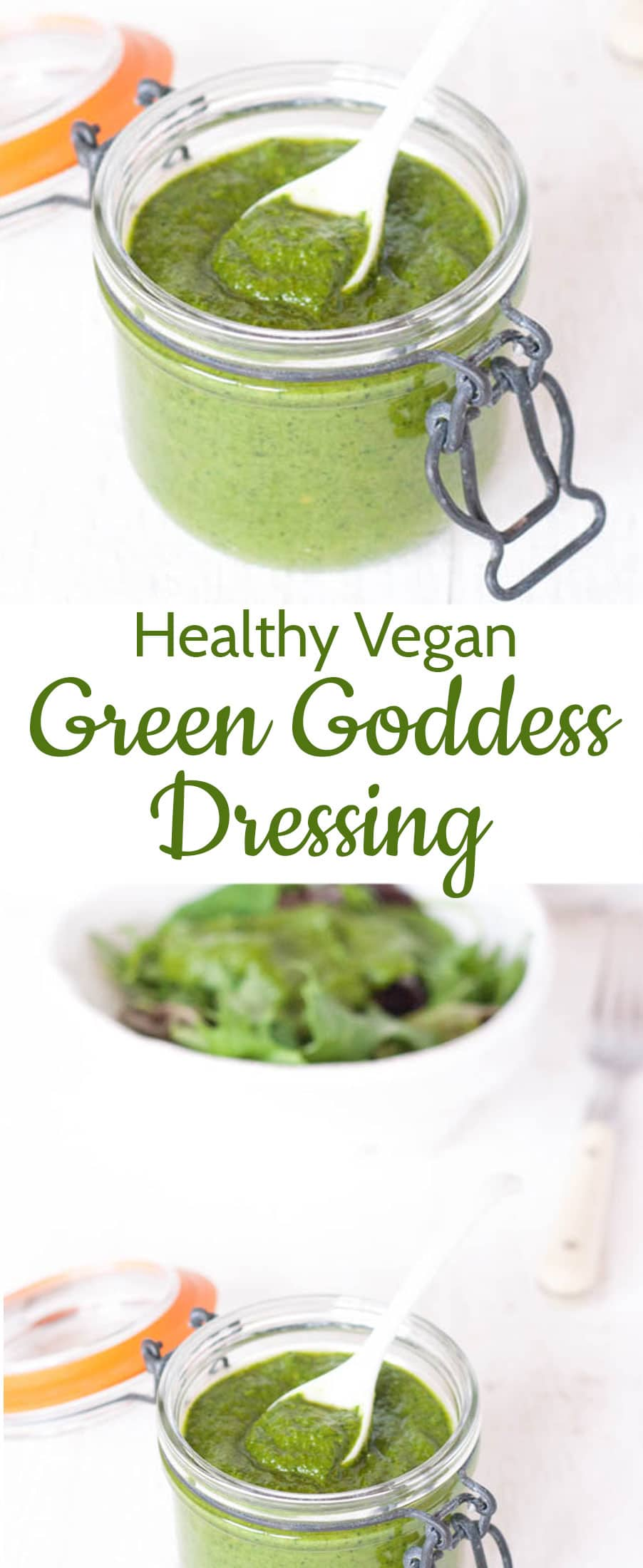 An intensely fresh, zingy vegan dressing made from left over fresh herbs. Endlessly adaptable and delicious.