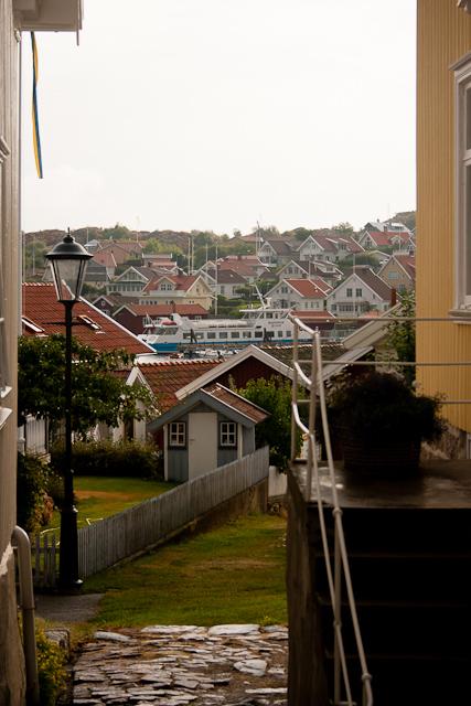 Houses in Fiskebackskil West Sweden