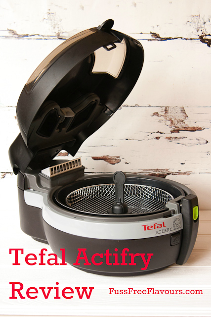 The Tefal Actifry Snacking- so much more than healthy chips