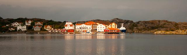 view at breakfast at Gullmarsstrand Hotel West Sweden