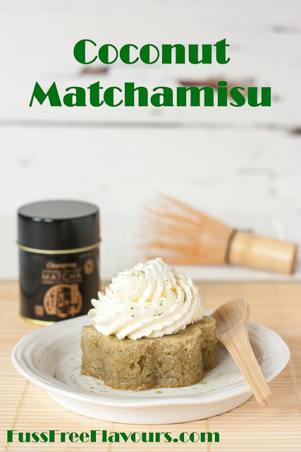 Recipe Coconut Matchamisu Fuss Free Flavours