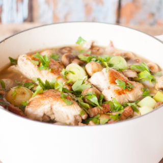 French style chicken casserole