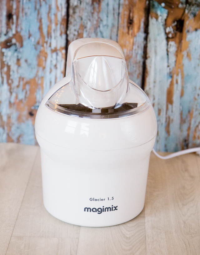The Magimix Le Glacier 1.5 litre ice cream make