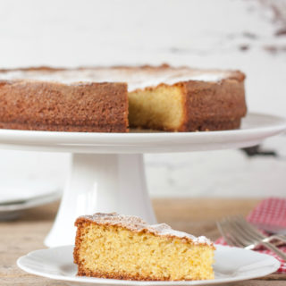 Olive Oil, Orange & Oregano Cake