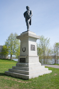 Statue of Robert Burns Fredericton, New Brunswick, Canada