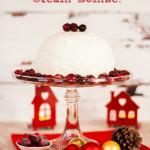 Christmas Pudding No Churn Ice Cream Bombe