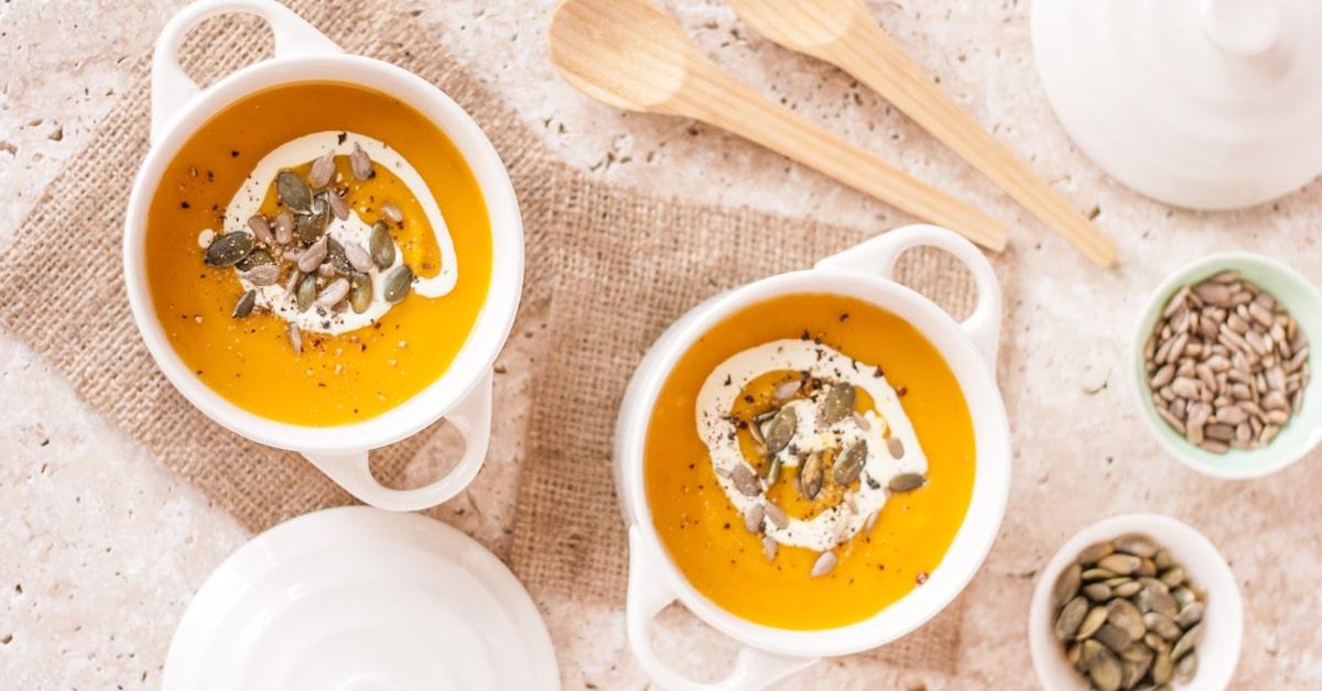 Spiced Pumpkin Soup With Carrot Amp Sweet Potato Gf Veg Fuss Free Flavours
