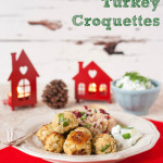Thai Curry Turkey Croquettes with Cranberry Mixed Grains