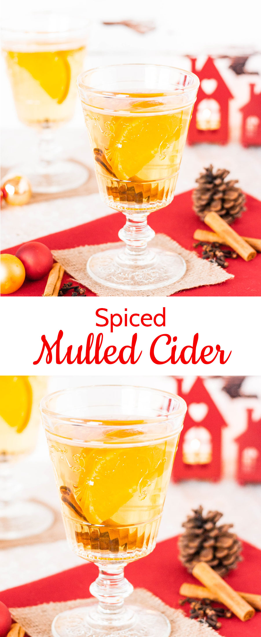Mulled cider, a cheap and delicious alternative to mulled wine