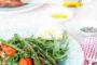 Bruschetta with Truffle Gremolata & Griddled Asparagus