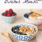 Vegetable bircher muesli captioned