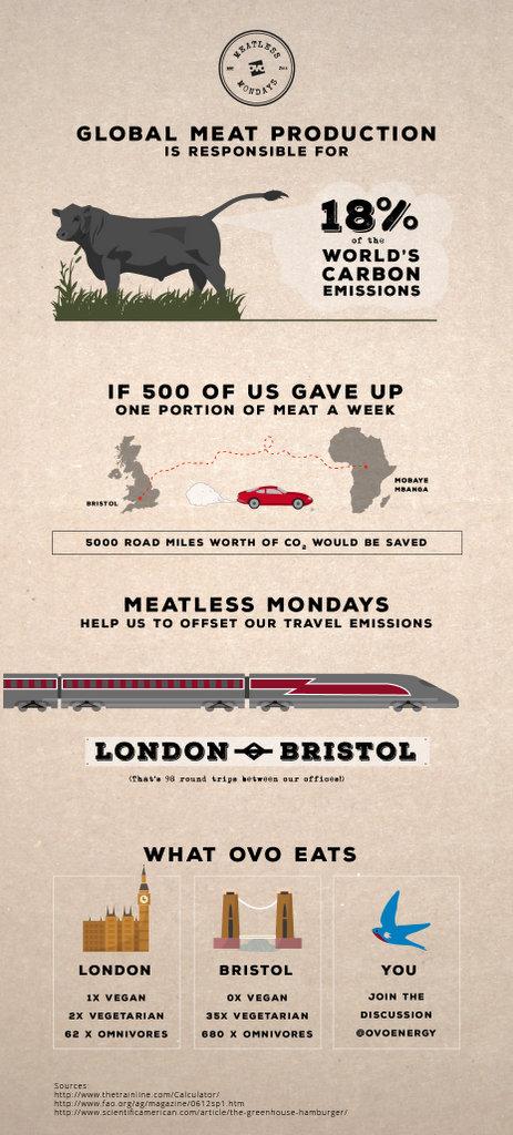 Ovo Energy Meatless Monday Infographic