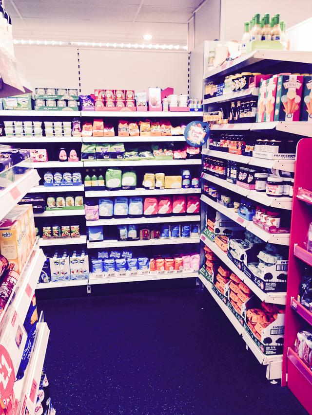 Shopping for pancake ingredients in Sainsburys