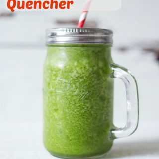 Recipe: The Post Workout Green Smoothie Quencher