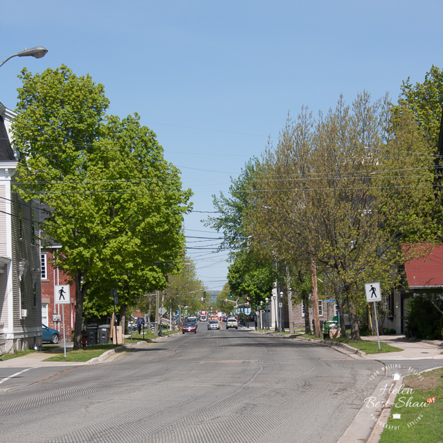 New Brunswick, Fredericton, Lunch Time Traffic