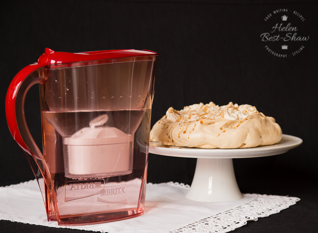 A very easy but stunning dessert recipe with coffee, cream and brown sugar toffee flavoured meringue.