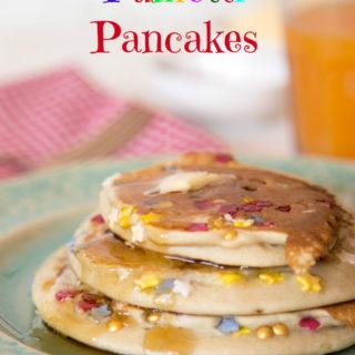 Banana Funfetti Pancakes